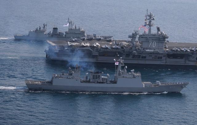 韩美在朝鲜半岛演练精确打击 对朝释放强烈信号