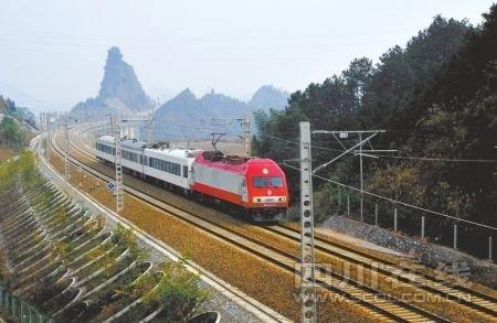 宜万铁路今日通车 101年前由詹天佑主持开建