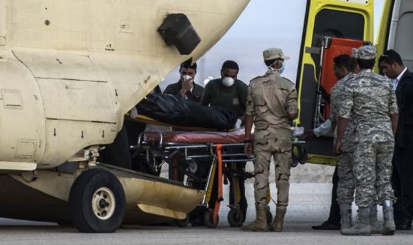 俄客机坠毁现场首段航拍视频公布