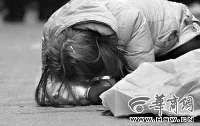 16岁女孩跳楼当场死亡或因恋爱遭家人反对(图)