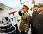 刘华清上将与中国航母