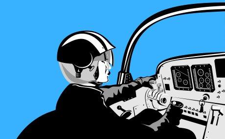 特技飞行与女飞是否只是负责感官表演?