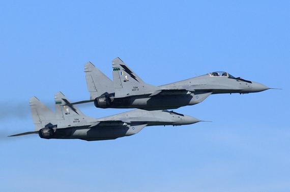 俄媒:马来西亚空军一飞机失联 搜寻工作已展开
