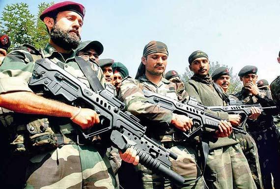 中巴边境阵亡印士兵