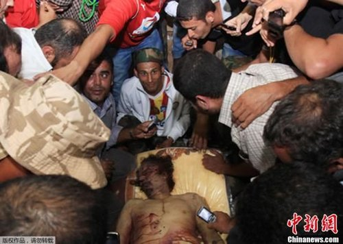 英媒:卡扎菲之死是美国新型外交政策的胜利