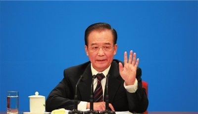 温家宝:连续10年谈台湾问题 每次心情都不平静