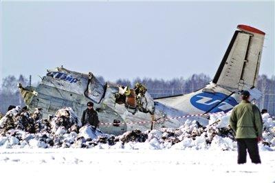 俄客机坠毁31人遇难 12名生还者伤势严重(图)