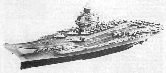 俄计划重开核动力航母项目 重建远洋海军