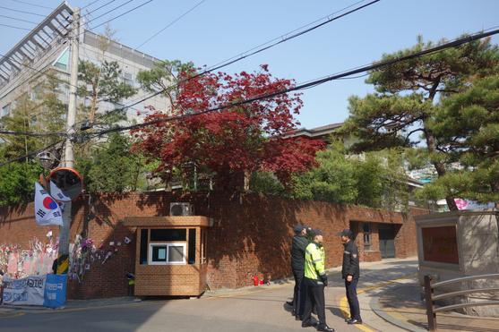 朴槿惠在看守所中67亿韩元售出私邸(图)