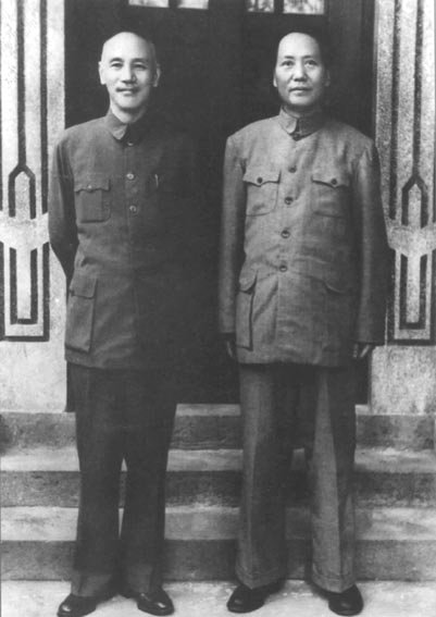 毛泽东与蒋介石的相同:都只有初高中文化水平