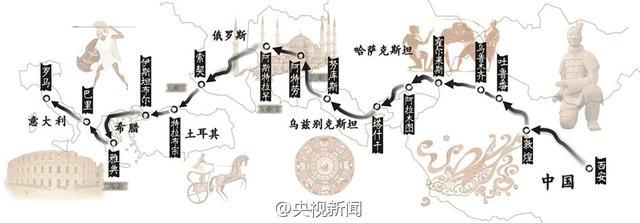 丝绸之路成功申遗 成为首例跨国合作成功申遗项目