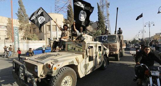 ISIS武装从伊拉克政府军手中缴获大量美制武器。