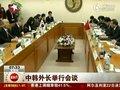 视频:外交部长杨洁篪访韩国 与韩外长举行会谈