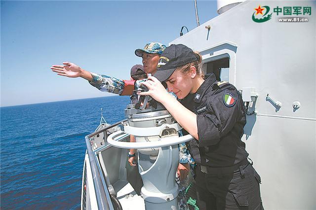海军远航访问编队结束访问意大利 双方举行海上联演