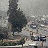 巴格达市中心被浓烟笼罩