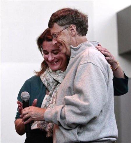 梅琳达·盖茨(Melinda Gates)和比尔·盖茨(Bill Gates)