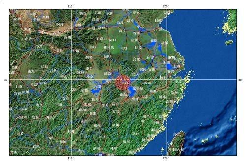 江西湖北交界4.6级地震 中部武汉、长沙、南昌