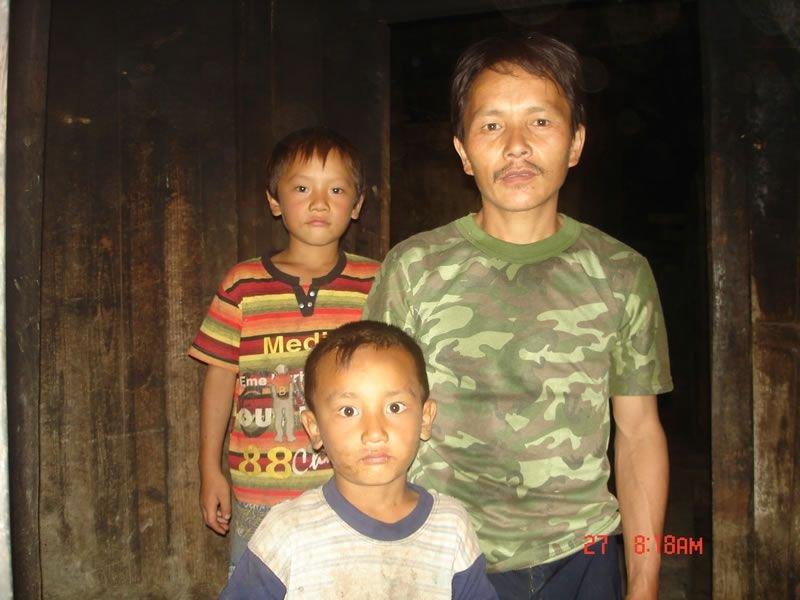 林森拍摄的父亲和弟弟们,来自www.looklove.org