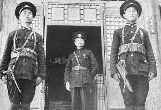 民国时的中国巡警