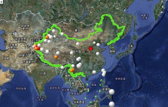 山西省清徐县交城县交界地区发生3.4级地震