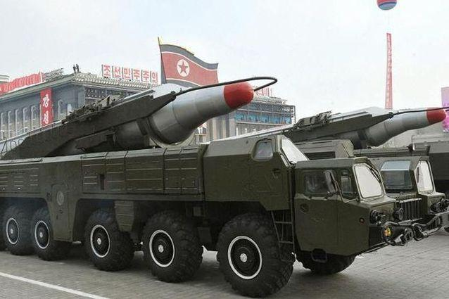 朝鲜疑似试射一枚弹道导弹 但以失败告终