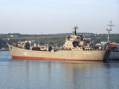 俄罗斯否认黑海舰队登陆舰赴叙利亚保护港口