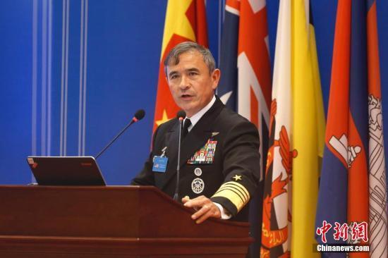 安倍会见美军太平洋司令 确认加强防务外交合作