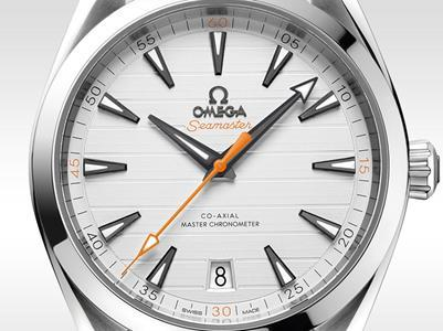设计美学,让欧米茄海马Aqua Terra腕表焕然一新