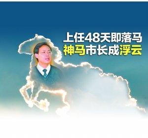 最短命市长吕清海被双开 任职国企时致亏损42