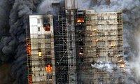 上海静安区大火