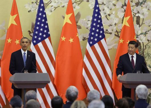习近平批香港占中违法 奥巴马称美国未煽动