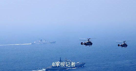 海军三大舰队在东海举行大规模实兵实弹对抗演习