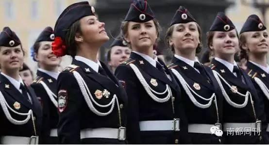 盘点:各国阅兵式上有英姿又有颜值的女兵们