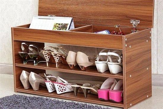 鞋盒子手工制作鞋柜图片