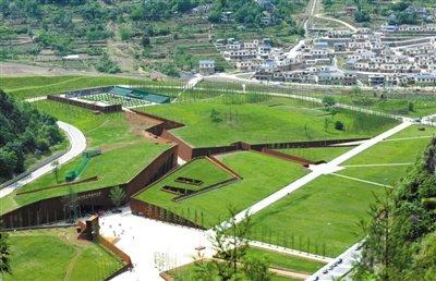 汶川地震纪念馆免费向公众开放(图)