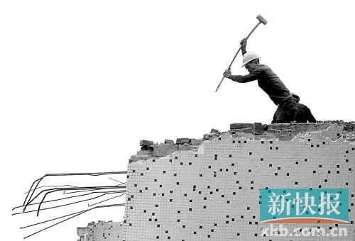 陈氏兄弟800多平方米的房屋被强拆,由此奔走了两年多。新快报记者 李小萌/摄(资料图片)