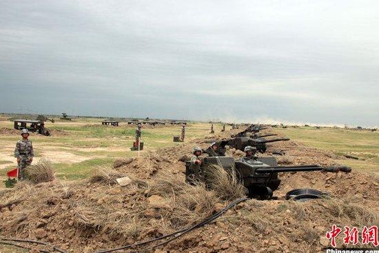 解放军炮连演练因叠炮衣延误战机被判全军覆没