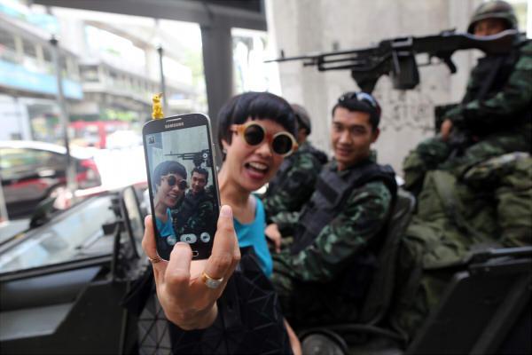 泰國軍隊的政變已經成為一種特殊的地區人文景觀