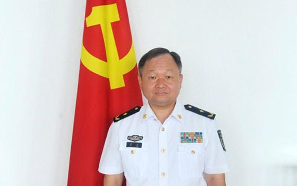 四名将领出任海军纪委副书记(图)