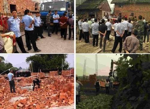 四川官员被曝强拆村民房屋后公款吃喝 当地回应