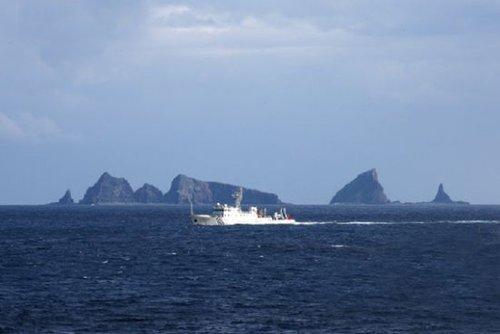 日媒:中国海监船或反复在钓鱼岛巡逻宣示主权