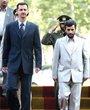 2005年8月,叙利亚总统巴沙尔前往伊朗参加内贾德的就职仪式