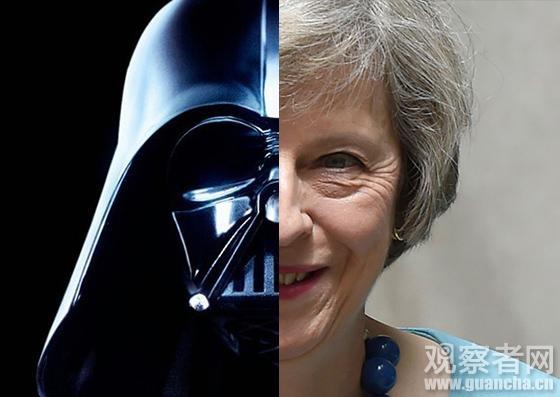 """英国女首相干了啥?斯诺登说她是""""黑武士"""""""