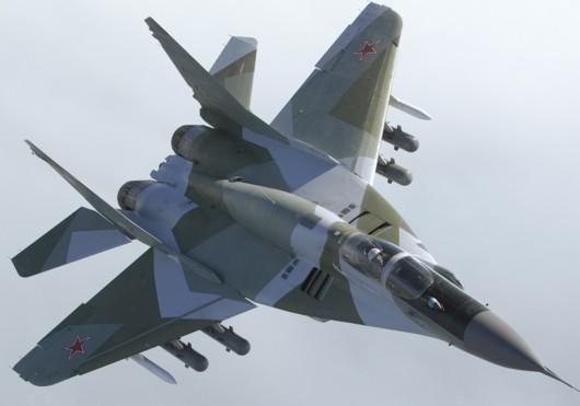 乱套了:俄罗斯一架米格29战斗机坠毁 1名飞行员死亡