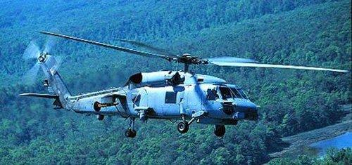SH-60直升机