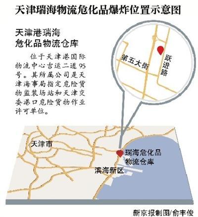 天津瑞海物流危化品爆炸 居民担心污染准备撤离