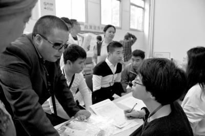 北京盲人专场招聘会召开 41家企业提供180个岗位