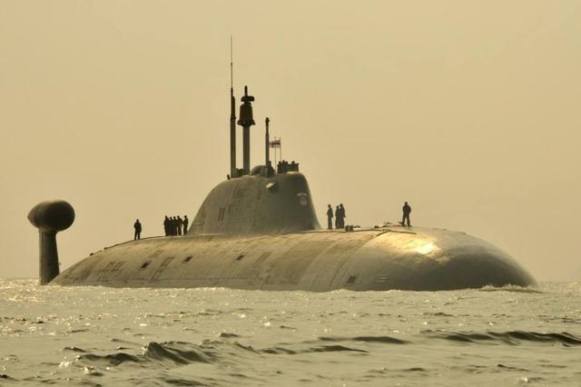 印度唯一实战部署核潜艇撞坏声纳已趴窝一个多月