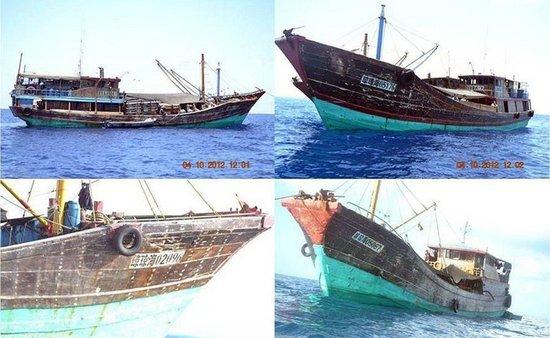 菲律宾军方称多艘中国渔船重返黄岩岛海域