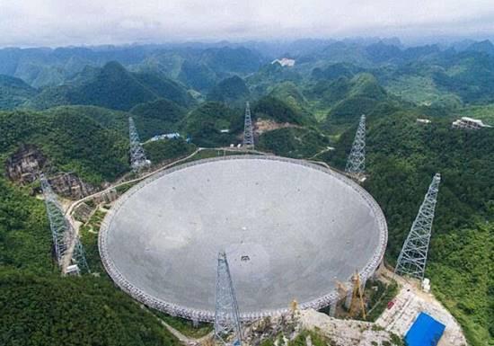 中国最大单口径望远镜将开眼 不必担心外星人威胁